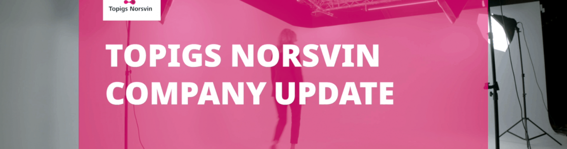 Topigs Norsvin company update summer 2020